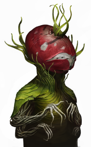 Plantoid 09 - Some odd details about certain species portraits
