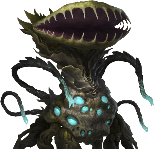 Plantoid 11 - Some odd details about certain species portraits
