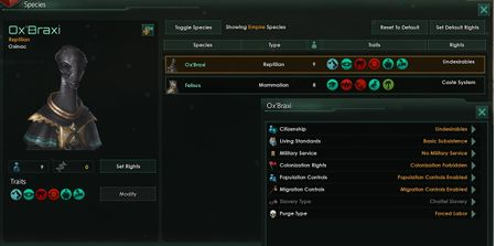 Species rights - Stellaris Wiki